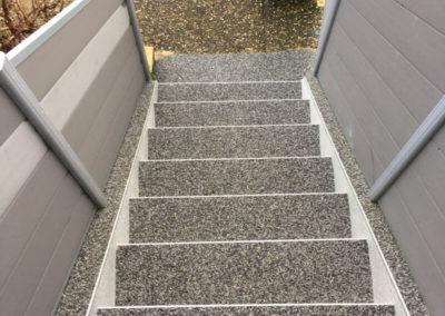 Escalier en résine de marbre Lorraine