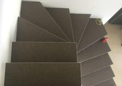 Escalier intérieur en résine de quartz à Milery (54)